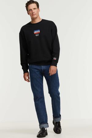 sweater met logo caviar