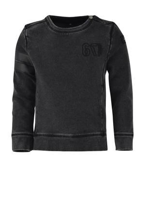 sweater Tygo verwassen zwart