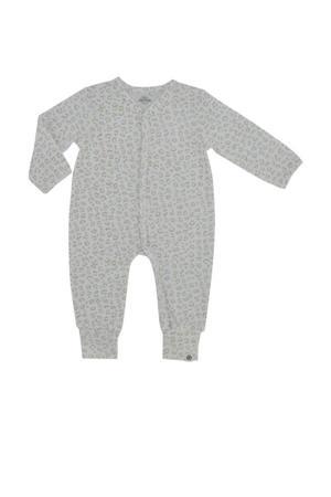 newborn baby boxpak met biologisch katoen wit/camel