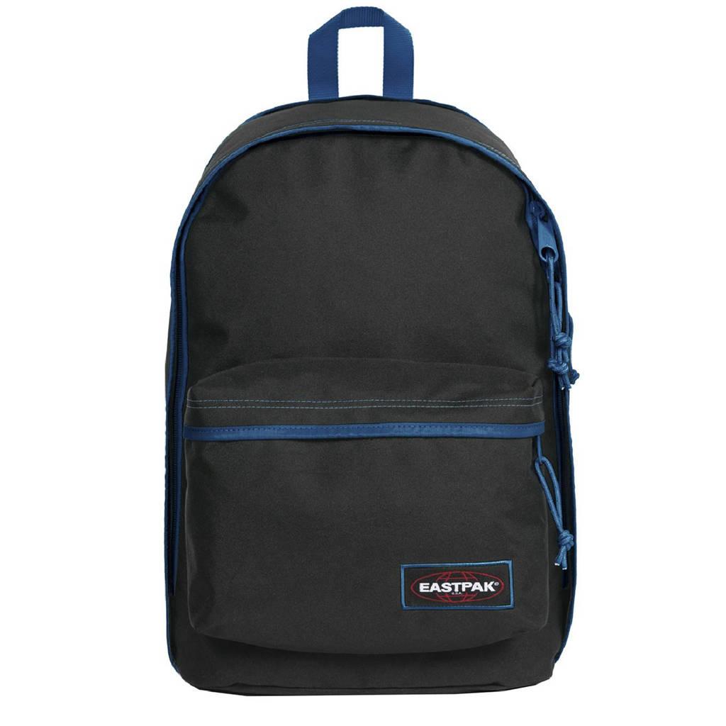 Eastpak  rugzak Back to Work zwart/blauw, Zwart/blauw
