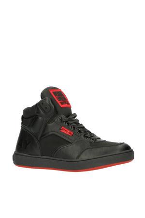WALL  hoge sneakers zwart