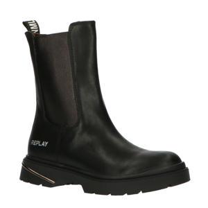 POP  hoge chelsea boots zwart