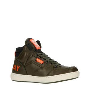 WALL  hoge sneakers groen