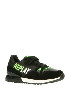 Coulby  sneakers zwart/groen