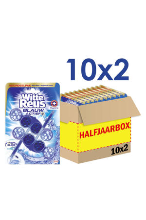 Blauw Actief Hygiene toiletblok - 10 x 2 stuks
