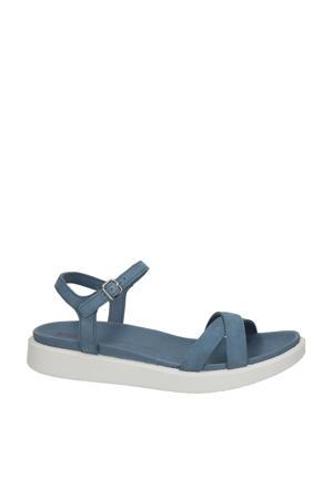 Yuma  nubuck sandalen blauw