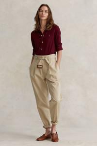 POLO Ralph Lauren blouse donkerrood, Donkerrood
