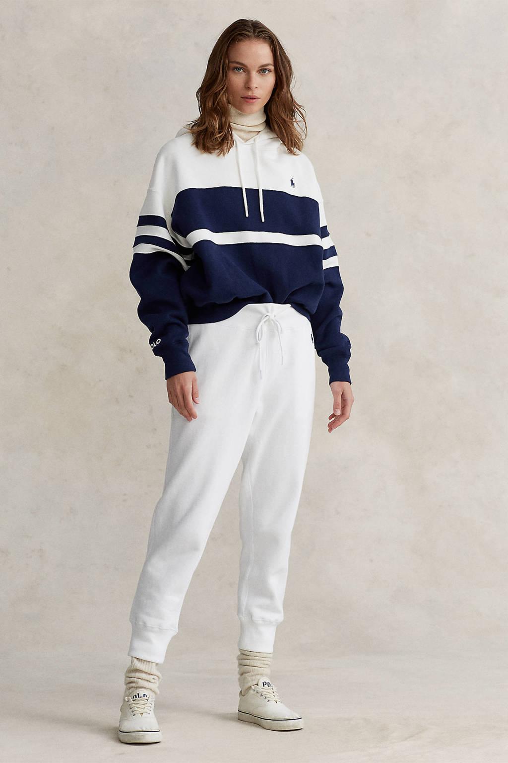 POLO Ralph Lauren hoodie blauw/wit, Blauw/wit