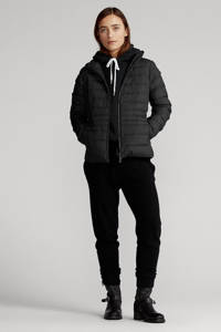 POLO Ralph Lauren gewatteerde jas van gerecycled polyester zwart, Zwart