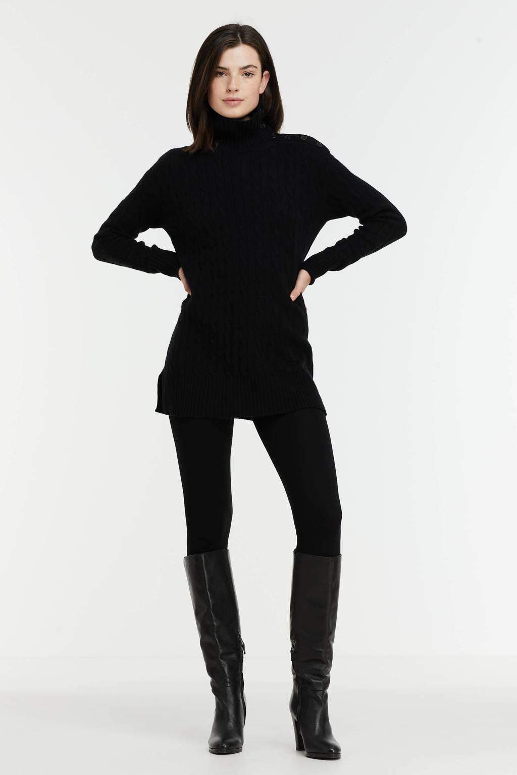 POLO Ralph Lauren gebreide trui met wol zwart, Zwart