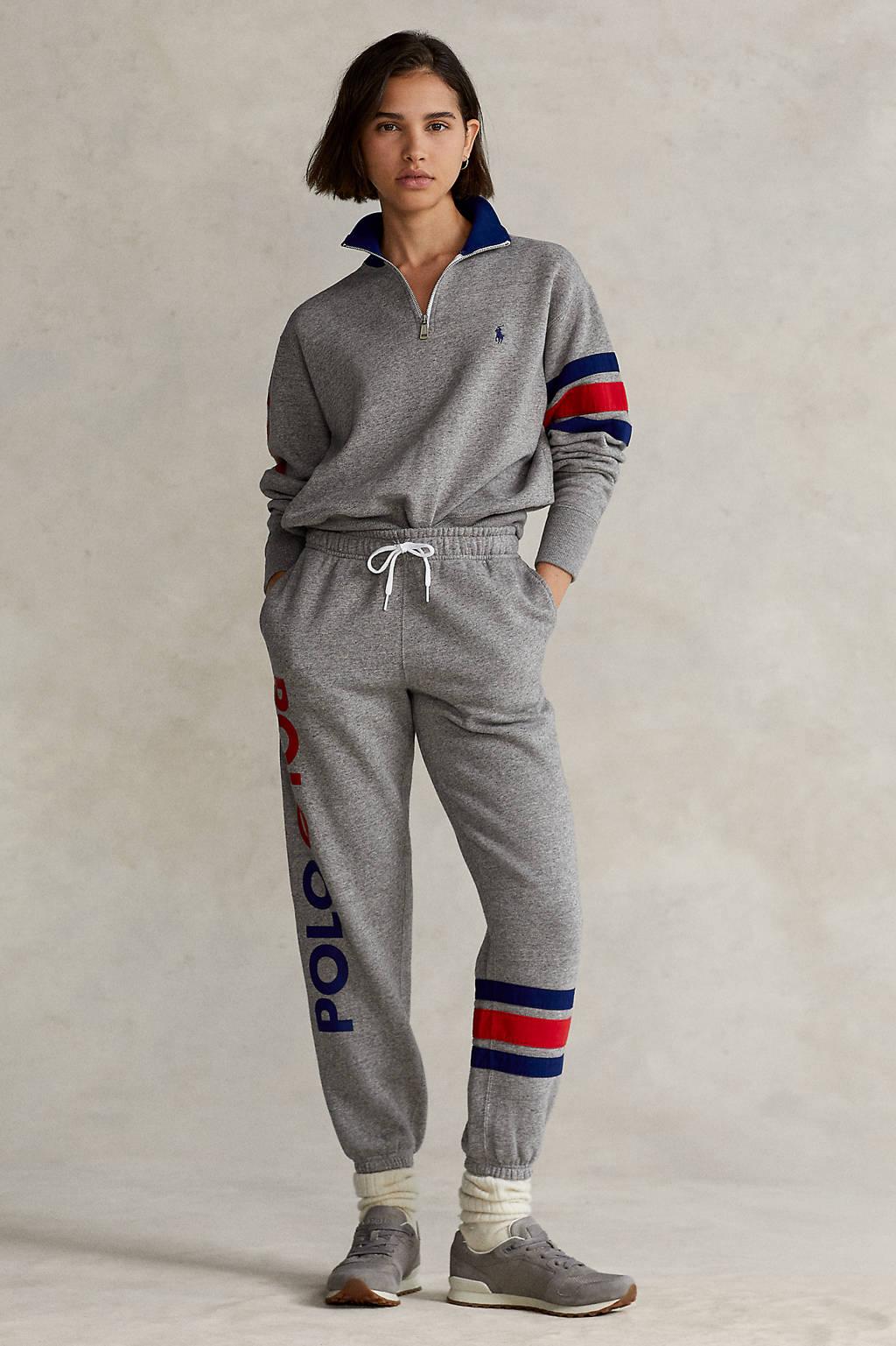 POLO Ralph Lauren tapered fit joggingbroek met logo grijs, Grijs