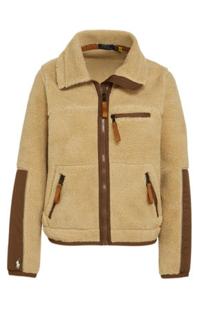 teddy jas beige/bruin
