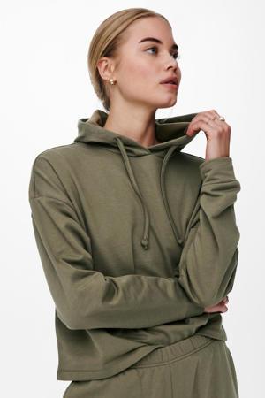 hoodie ONLDREAME donkergroen