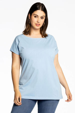 T-shirt COTTON lichtblauw