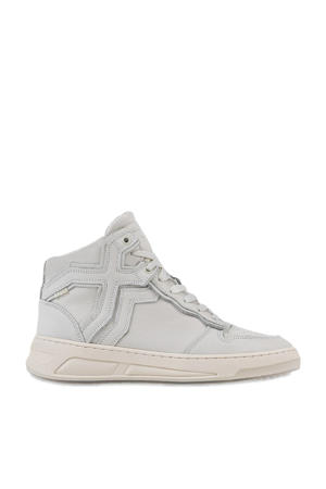 Old-Cosmo High hoge leren sneakers off white