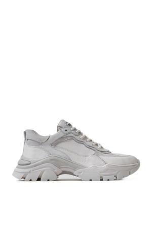 Tayke-over  leren chunky sneakers off white