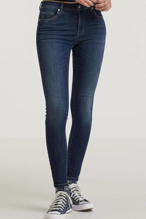 low waist skinny jeans ONLCORAL dark medium blue denim