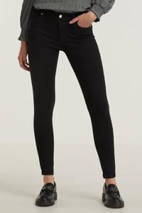 ONLY extra low waist skinny jeans ONLCORAL zwart, Zwart