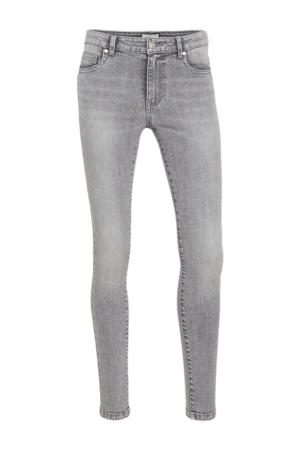 low waist skinny jeans ONLCORAL light grey denim