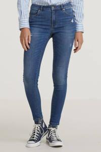 ONLY extra low waist skinny jeans ONLCORAL blue dark denim, Blue Dark Denim