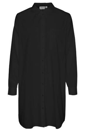 blouse VMPERCEY van biologisch katoen zwart