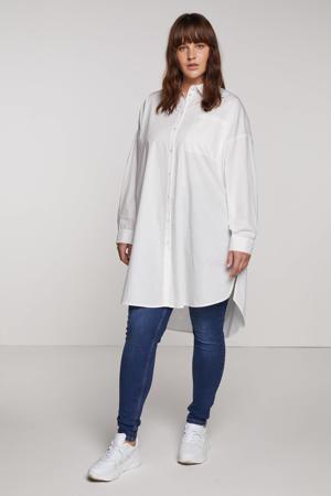blouse VMPERCEY van biologisch katoen wit