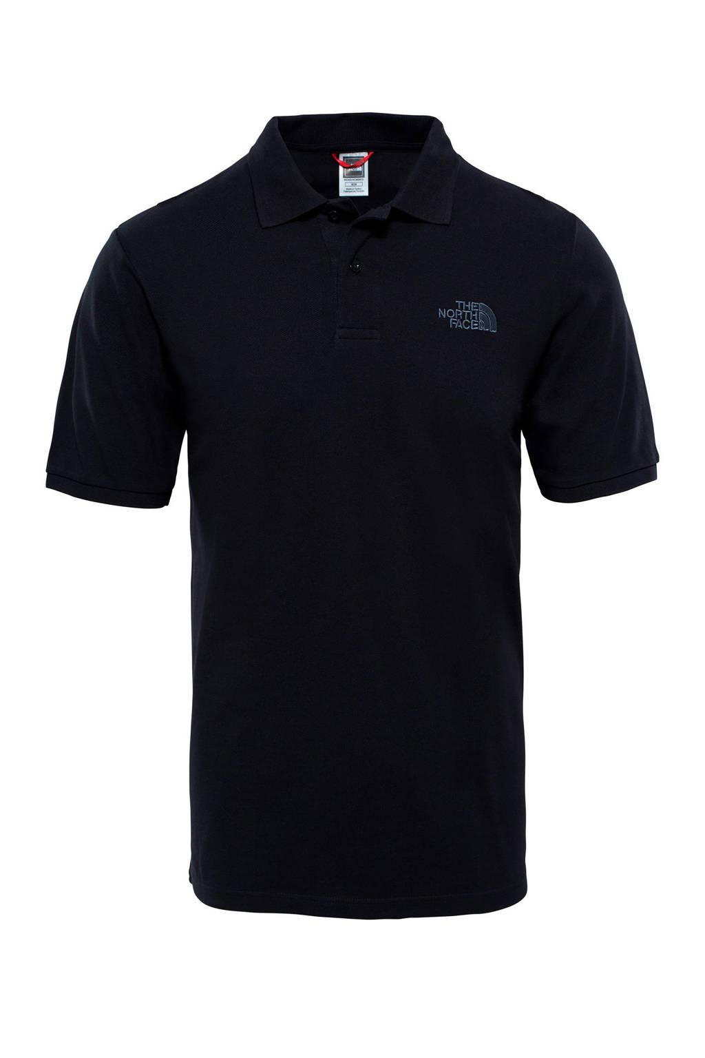 The North Face polo Piquet zwart, Zwart