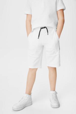 sweatshort - set van 2 grijs/wit