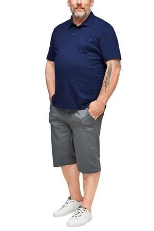 regular fit polo Plus Size blauw