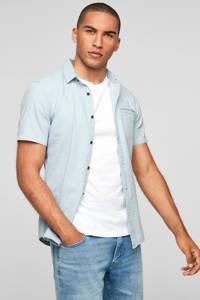 Q/S designed by slim fit overhemd lichtblauw, Lichtblauw