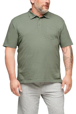 regular fit shirt Plus Size lichtgroen