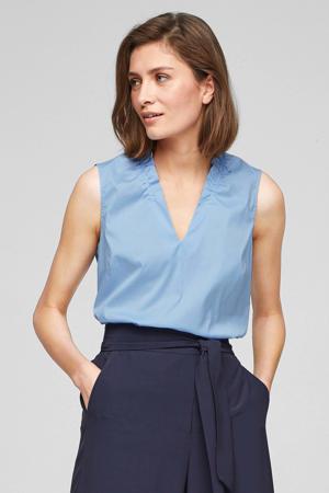 blousetop lichtblauw