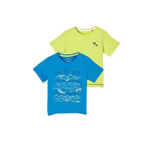 T-shirt - set van 2 multi color