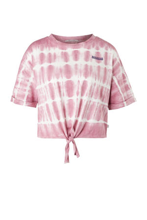 tie-dye T-shirt roze