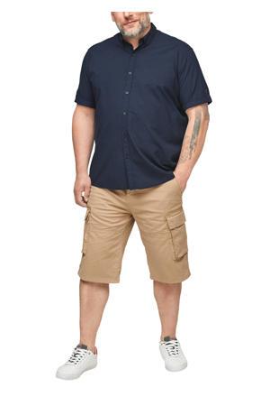 regular fit denim overhemd Plus Size donkerblauw
