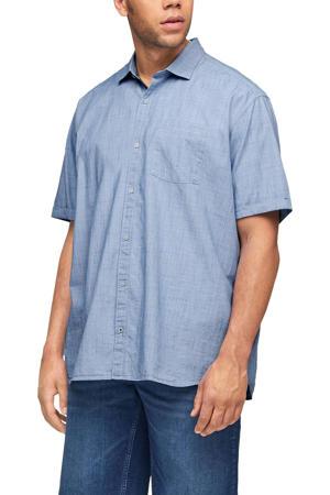 regular fit overhemd Plus Size blauw