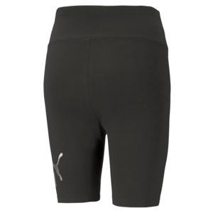 cycling short met logo zwart/goud