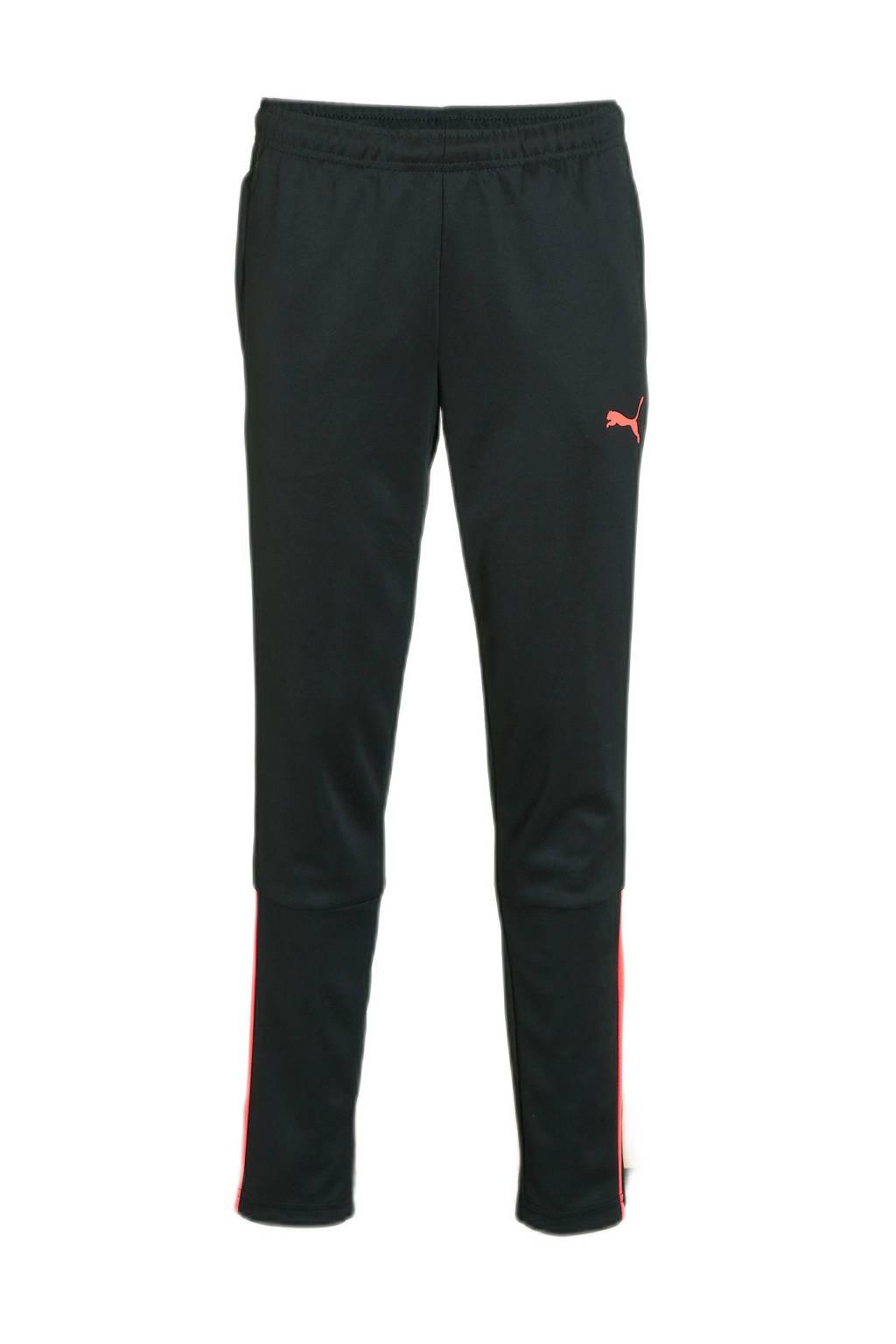 Puma   trainingsbroek zwart/roze, Zwart/roze