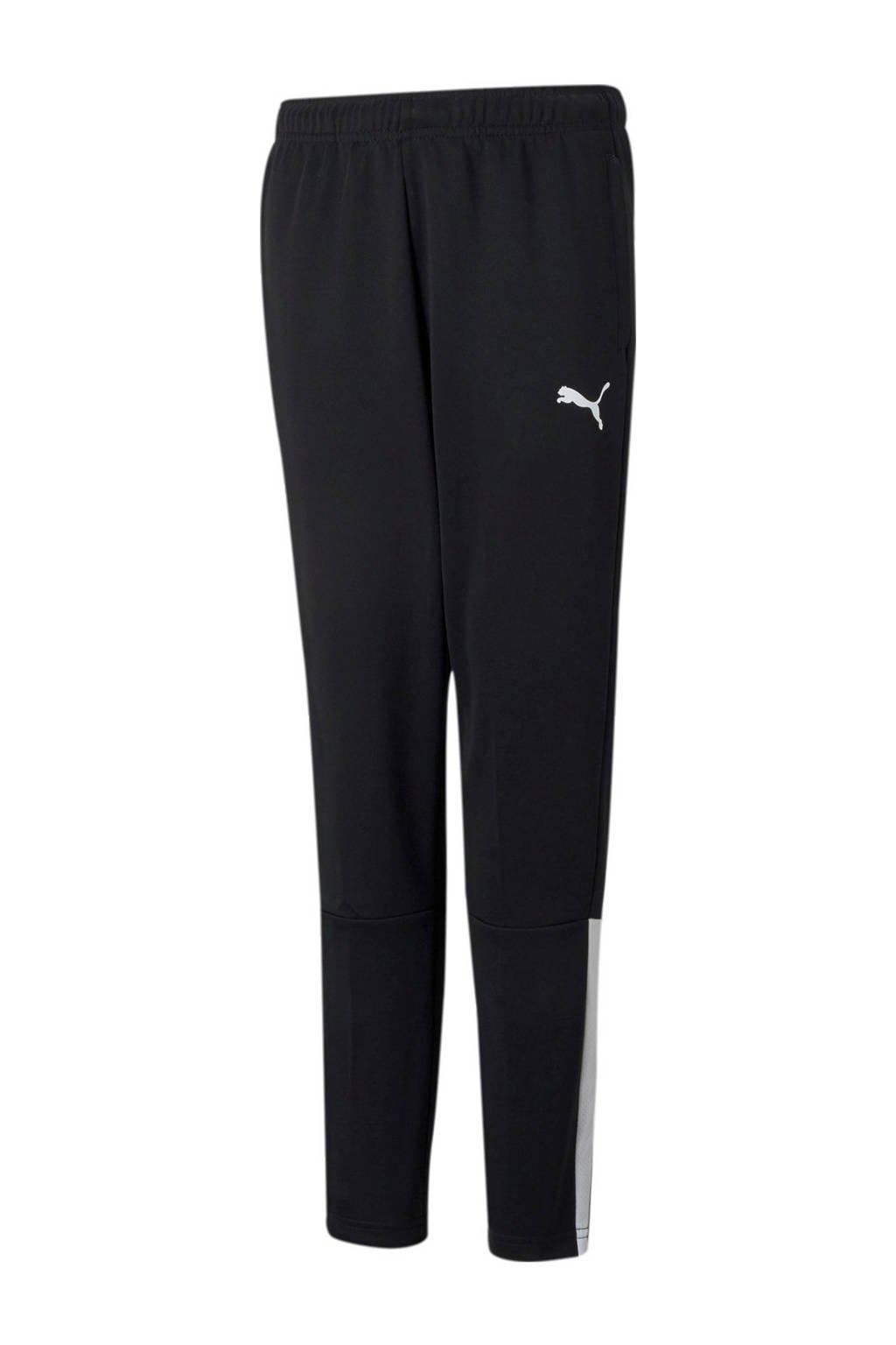 Puma   trainingsbroek zwart/wit, Zwart/wit