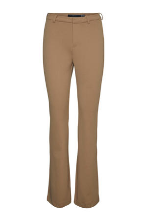 flared pantalon VMAMIRA camel