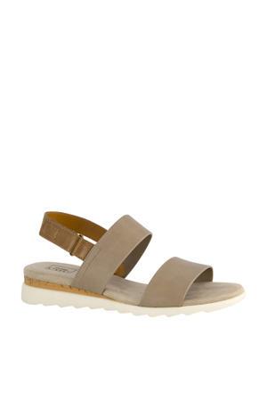 sandalen beige/bruin