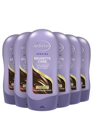 Brunette Care kleurconditioner - 6 x 300 ml