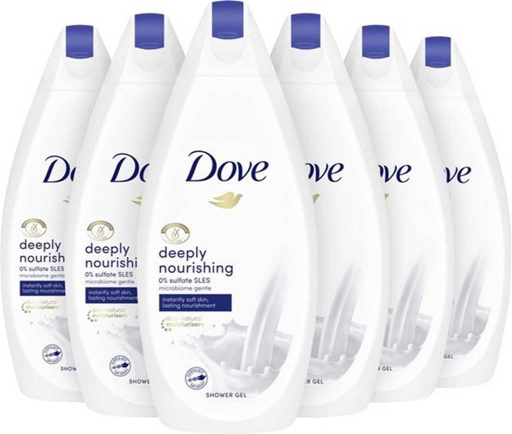 Dove Deeply Nourishing douchecrème - 6 x 445ml