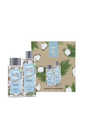 Coconut Water & Mimosa Flower - showergel en shampoo - Geschenkset