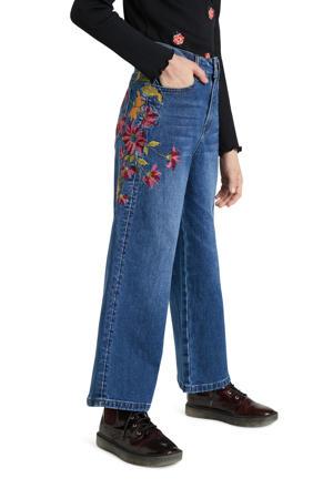 wide leg jeans denim dark