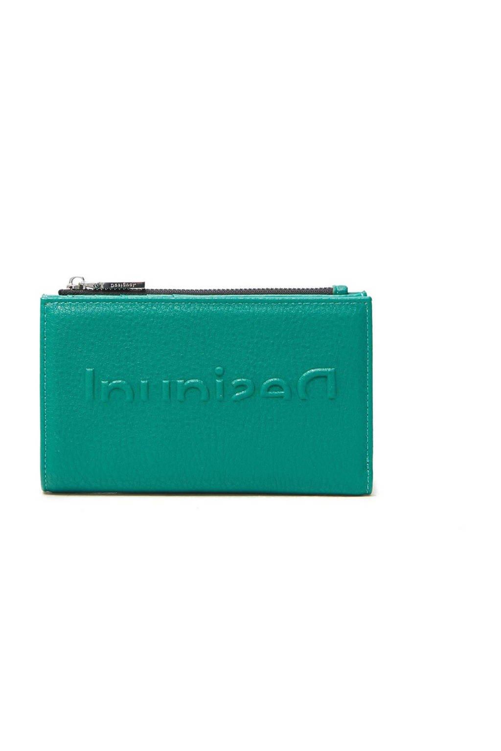 Desigual portemonnee turquoise, Turquoise