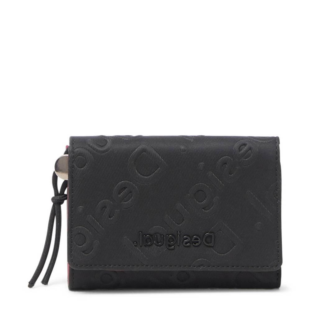 Desigual portemonnee zwart, Zwart
