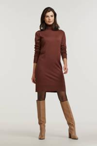 Saint Tropez fijngebreide jurk Mila bruin, Bruin