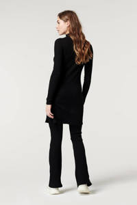 Supermom flared broek zwart, Zwart