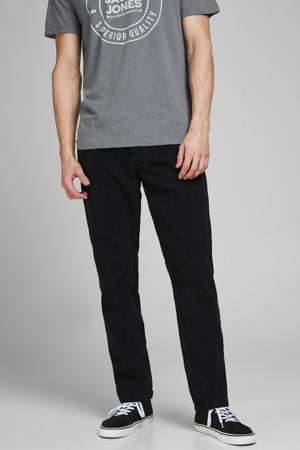 loose fit jeans JJICHRIS JJORIGINAL black denim